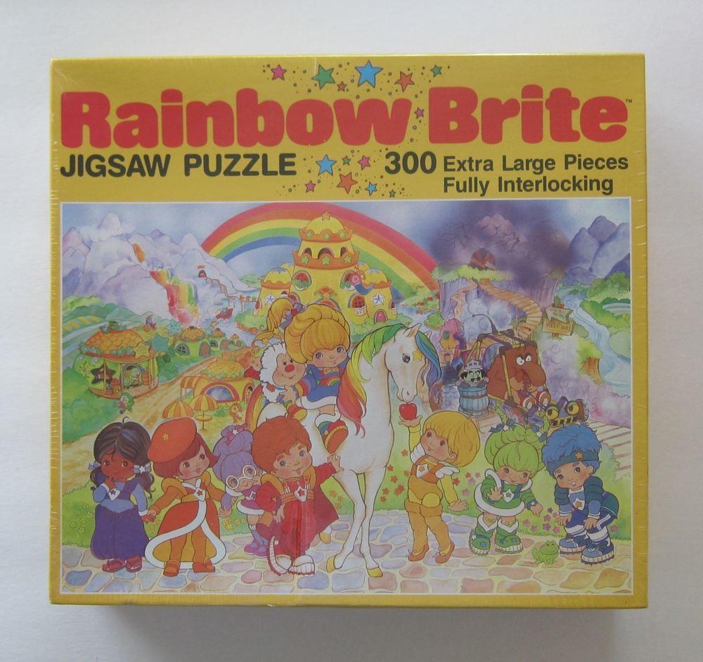 1983 Golden Rainbow Brite Jigsaw Puzzle