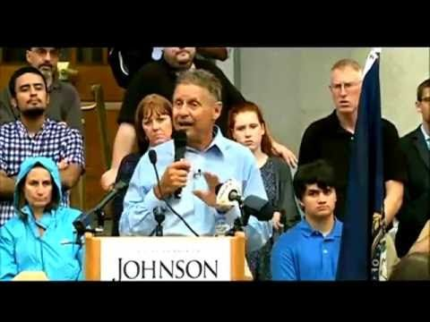 No Carbon Tax No Forced Vaccination Gary Johnson in New Hampshire - YouTube