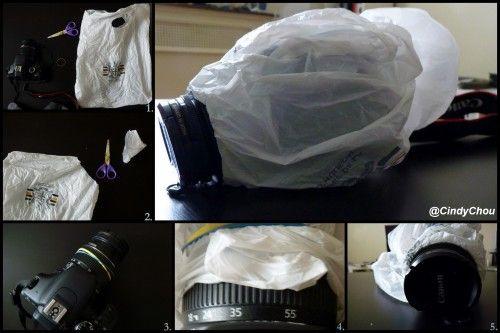 protection appareil photo plastique tutoriel photos pinterest appareils photos appareil. Black Bedroom Furniture Sets. Home Design Ideas