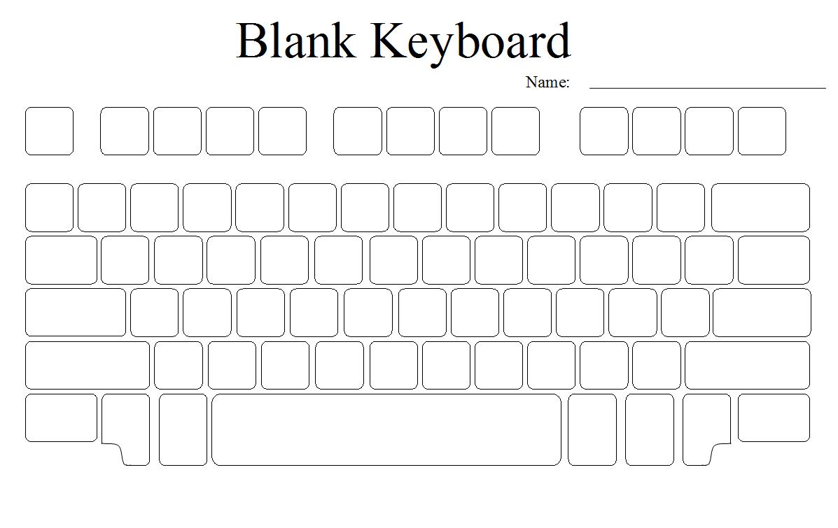 Worksheets Keyboarding Worksheets blank computer keyboard worksheets lab pinterest worksheets