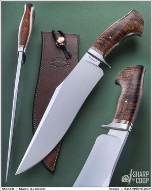 Aldrich Knife & Tool - Bowies, Camp Knives and Fighters — Aldrich Knife & Tool