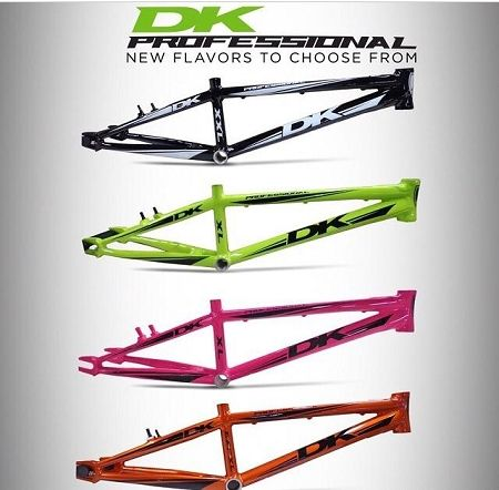 DK The Professional V2 Frame | BMX Frame\'s Available from www ...