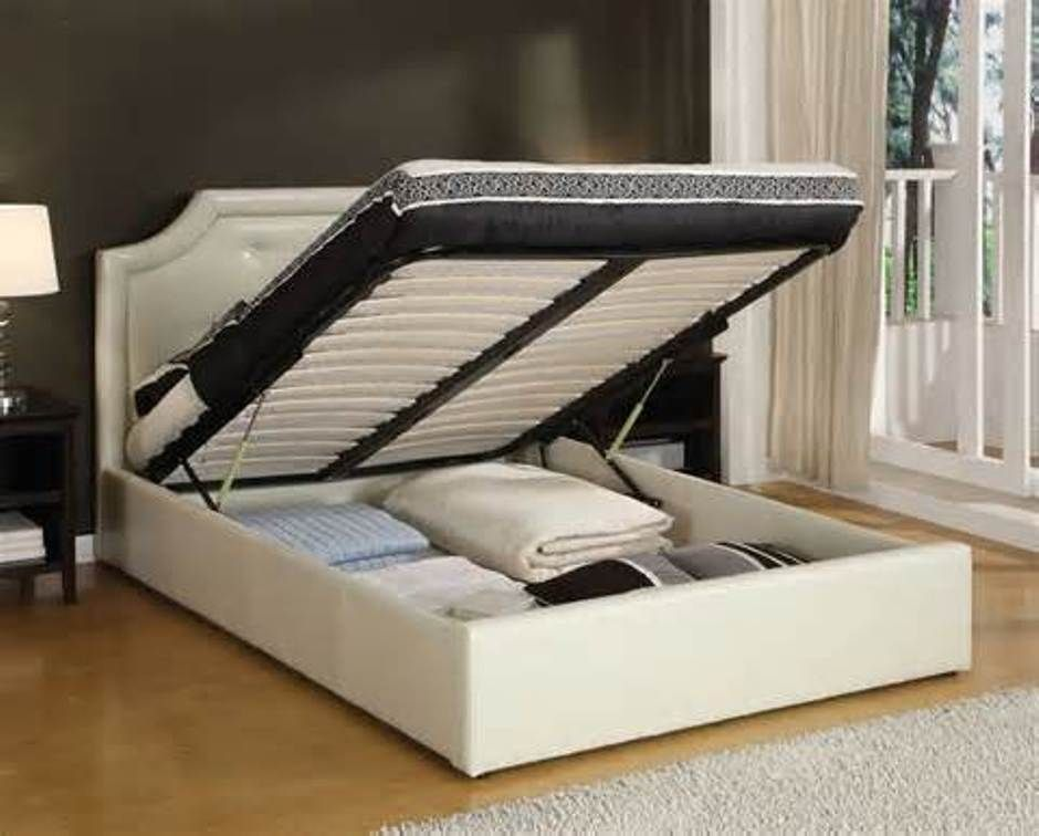 Style Loveseats For Small Spaces Bed Frame With Storage Storage Bed Queen Platform Bed With Storage
