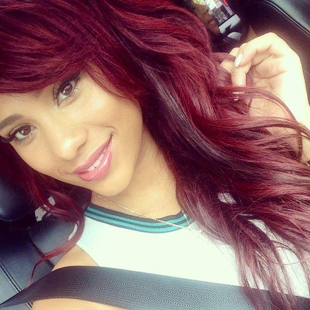 instagram bailarines cabello rojo
