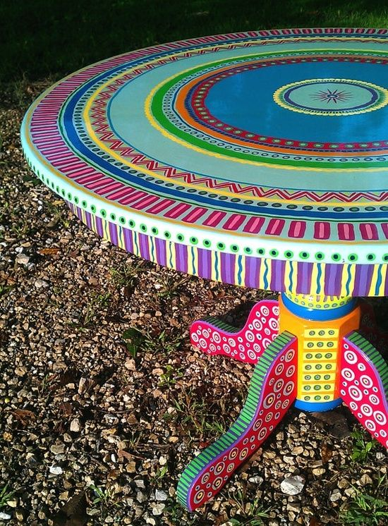 Colorful Hand Painted Furniture Models   Hand painted furniture ...