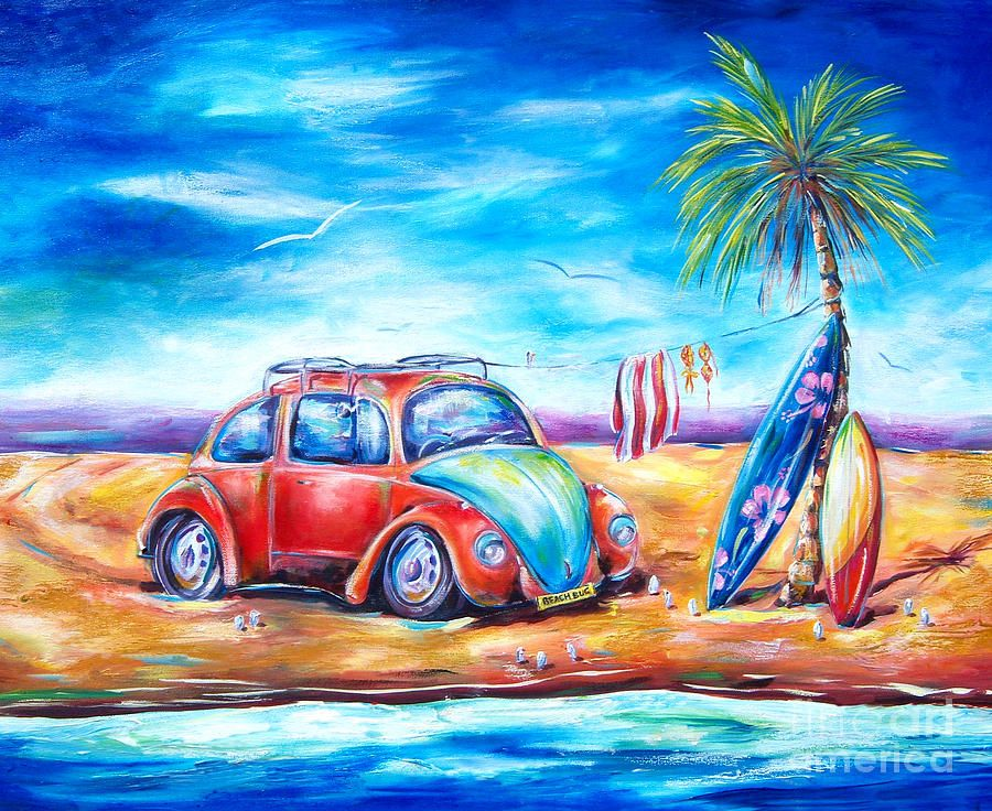 deborahs favourite subjects include surf art flowers reefs  beach paintings frogs