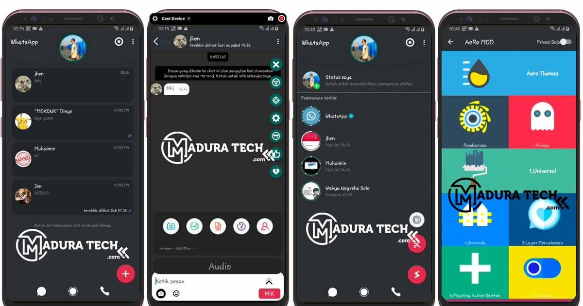 Aero Whatsapp Mod Terbaru V7 100 Update Juli 2019 Wa Anti Banned Download Aplikasi Yowhatsapp Versi Terbaru V8 15 Anti B Twitter Download Android Apk Android