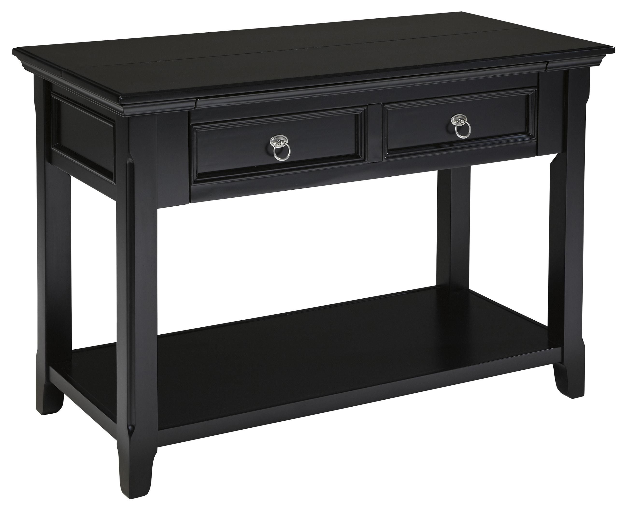 Awe Inspiring Sofa Table Desk Greensburg By Signature Design By Ashley Interior Design Ideas Inesswwsoteloinfo