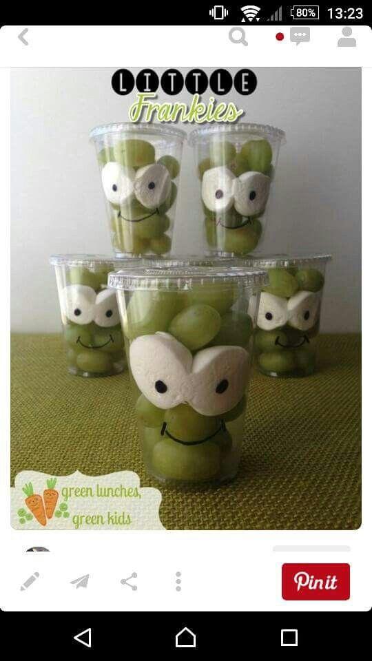 Druifjes Desserts Pinterest Class snacks, Halloween foods and