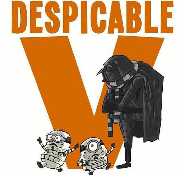 Despicable V - Darth Gru and Storm Trooper Minions - Star Wars