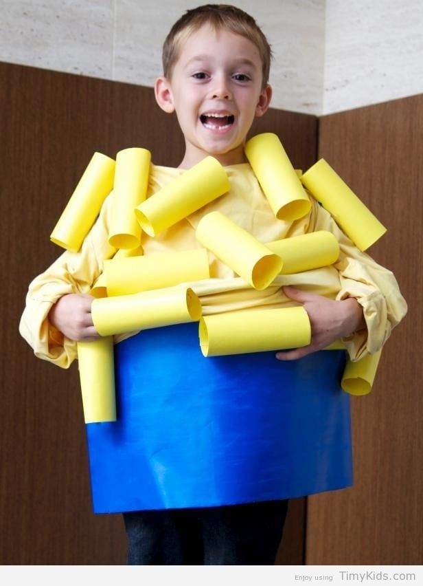 Httptimykidseasy do it yourself halloween costumes for kids the halloween experts at diy network have instructions on how to make a homemade macaroni and cheese costume solutioingenieria Image collections