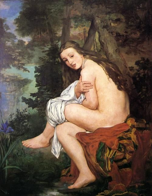 The Surprised Nymph, c.1859-61, by Édouard Manet (French, 1832–1883).