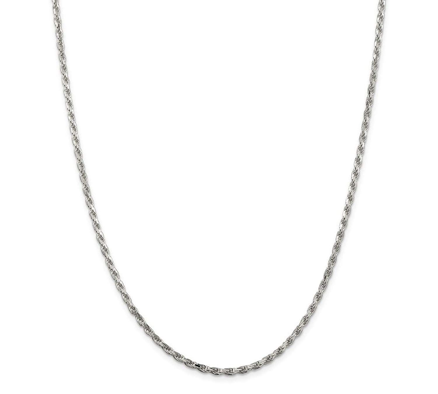 Sterling Silver Fine Curb Chain Necklace Various Lengths 1mm Thick 18 and 20 Inch Long 16