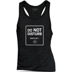 Photo of Bodylab24 Tank Top schwarz 'Do not disturb' – Xl