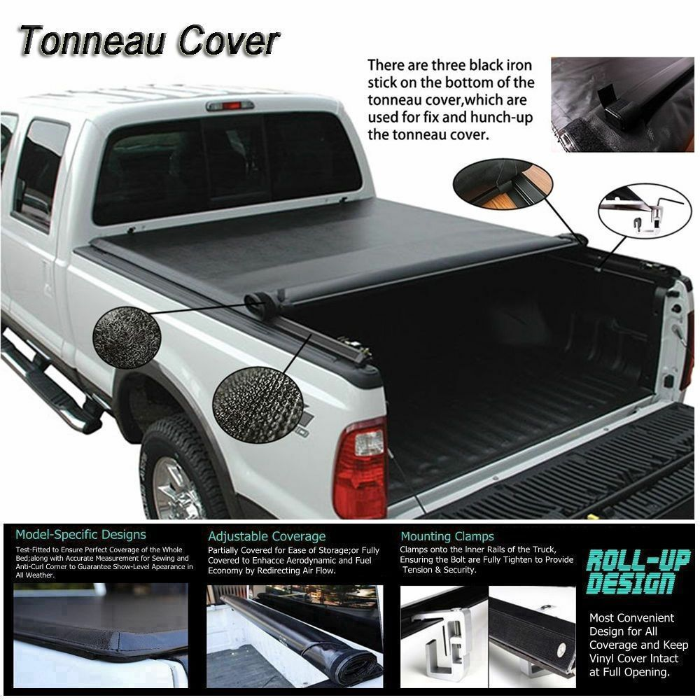 Sponsored Ebay Fits 1994 2004 Chevrolet S10 Lock Soft Roll Up Tonneau Cover 6ft 72in Bed Tonneau Cover Toyota Tacoma Double Cab Cover