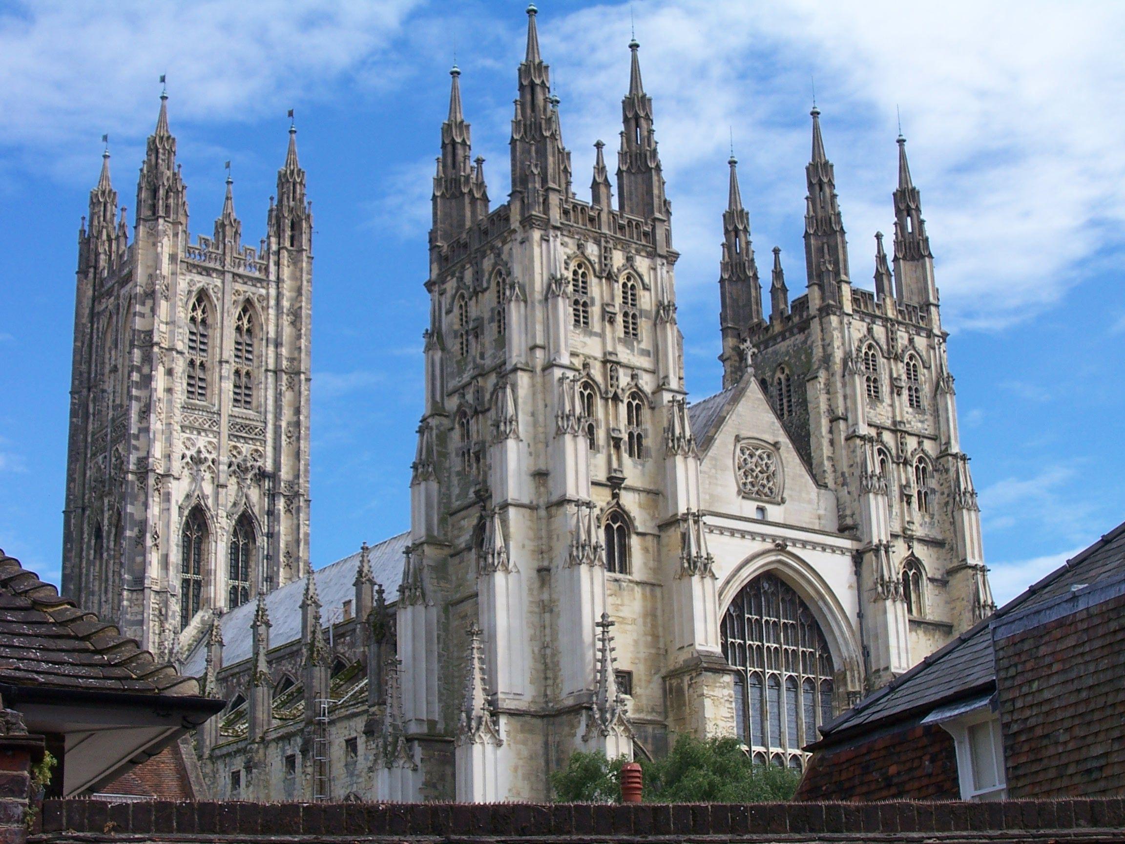 Canterbury ve městě Kent, Kent
