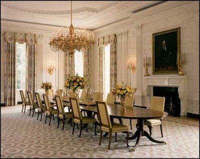 The White House | Mad Addict Tea Party....dining rooms,table ...