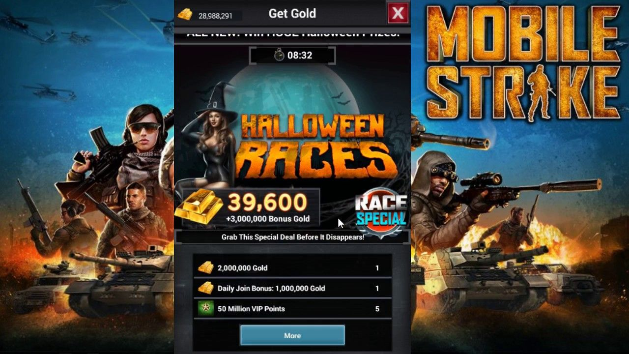 Mobile Strike Cheat Codes Free Gold & VIP Points. Now you