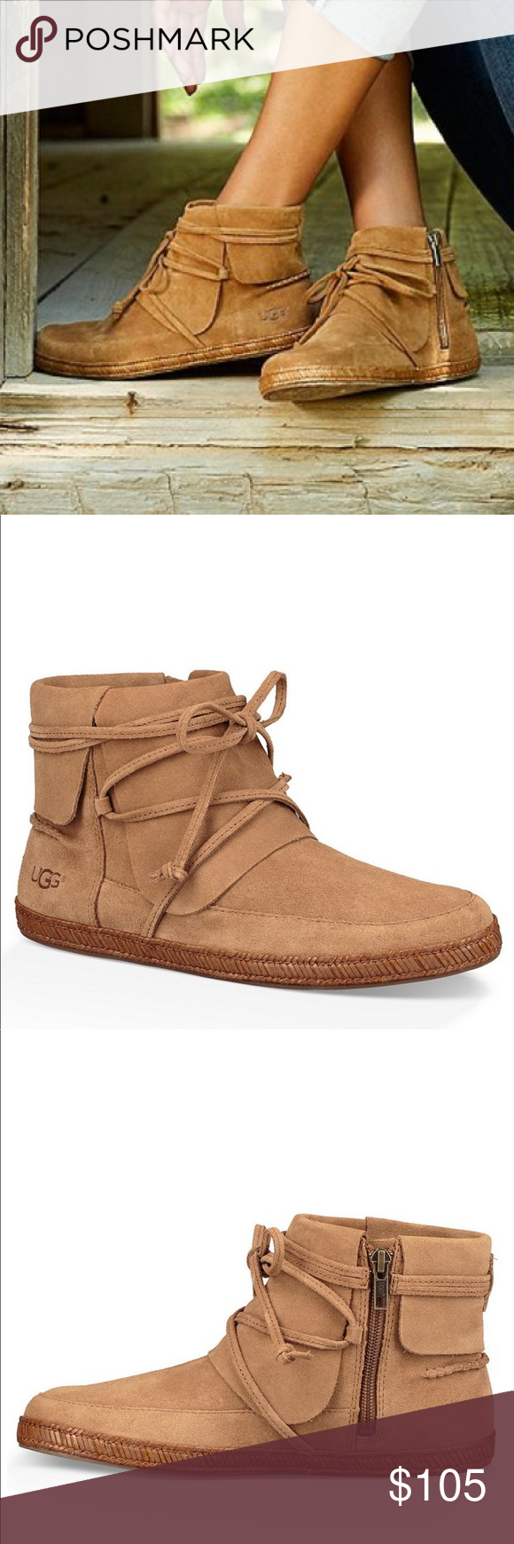 4f9158f1a53 NEW UGG REID LACE UP BOOT UGG