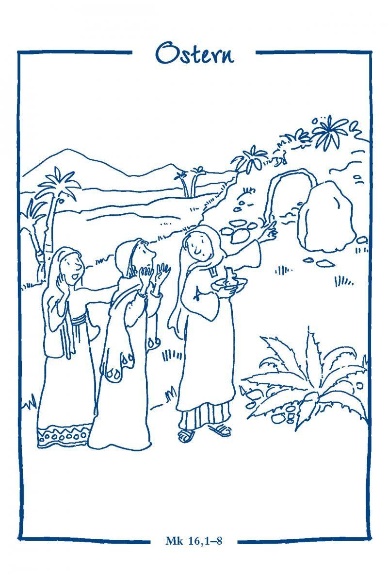 ausmalbilder ostern auferstehung  dorothy meyer grundschule