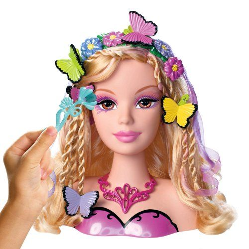Barbie Mariposa Frisurenkopf Neu Und Ovp Barbie Barbie I Butterfly Party