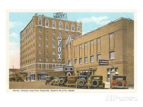 Hotel Yancey North Platte Nebraska Poster Allposters Com North Platte Nebraska North Platte Nebraska