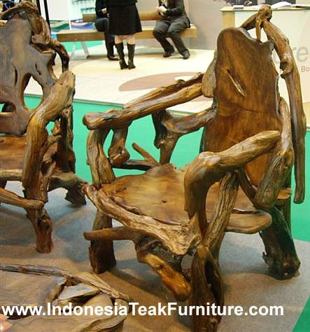 TEAK GARDEN FURNITURE SET JAVA INDONESIA TEAK ROOT WOOD | Furniture ...