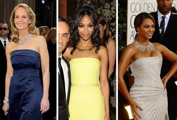 Your Go To Jewelry Guide What Wear With Every Neckline Strapless