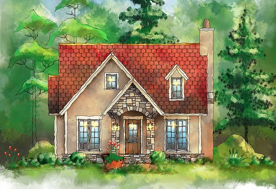 Plan 26685gg European Itty Bitty Cottage Homes To Build