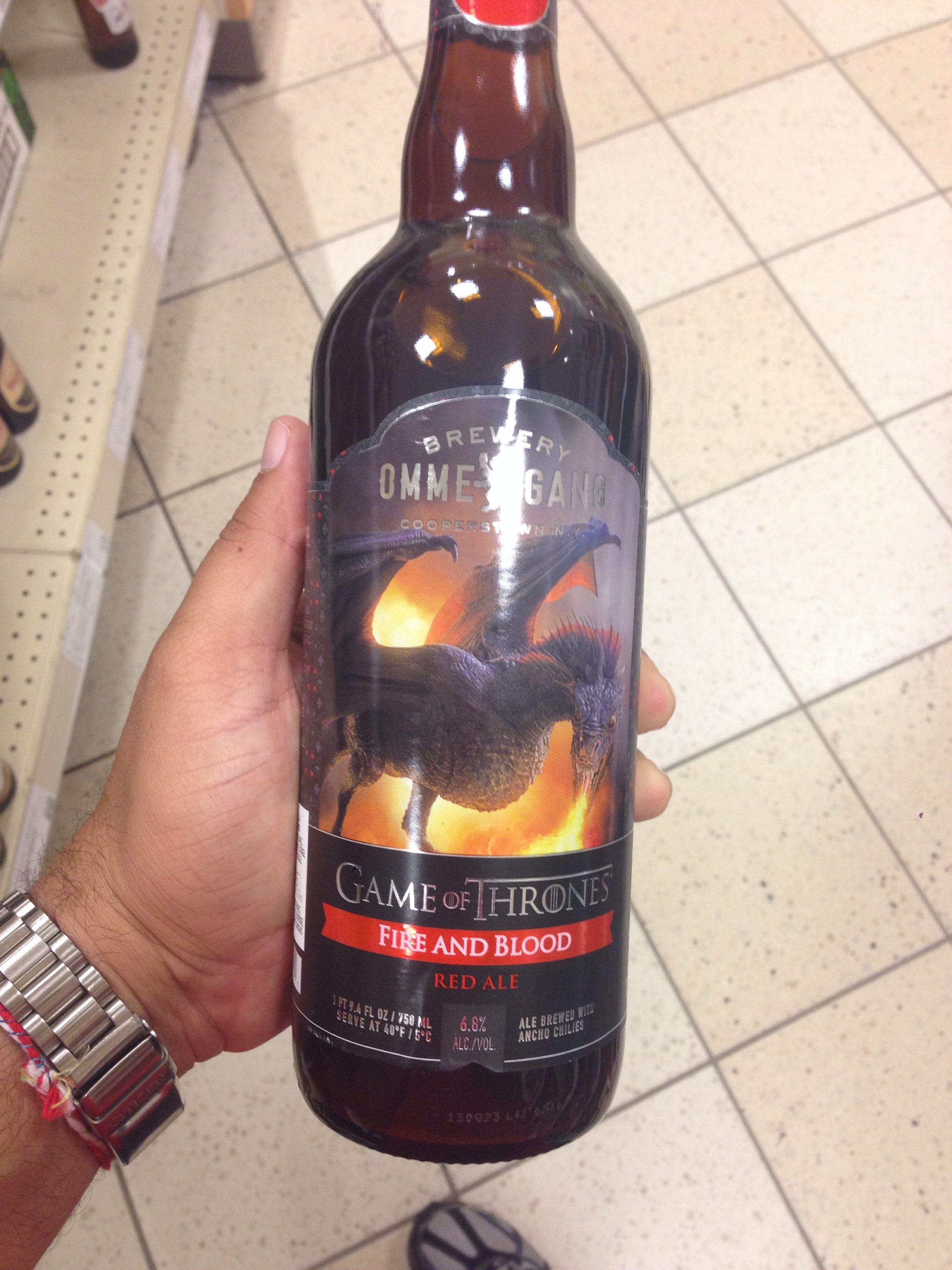 Game of Thrones, Red Ale. Canada Canadian beer, Ale