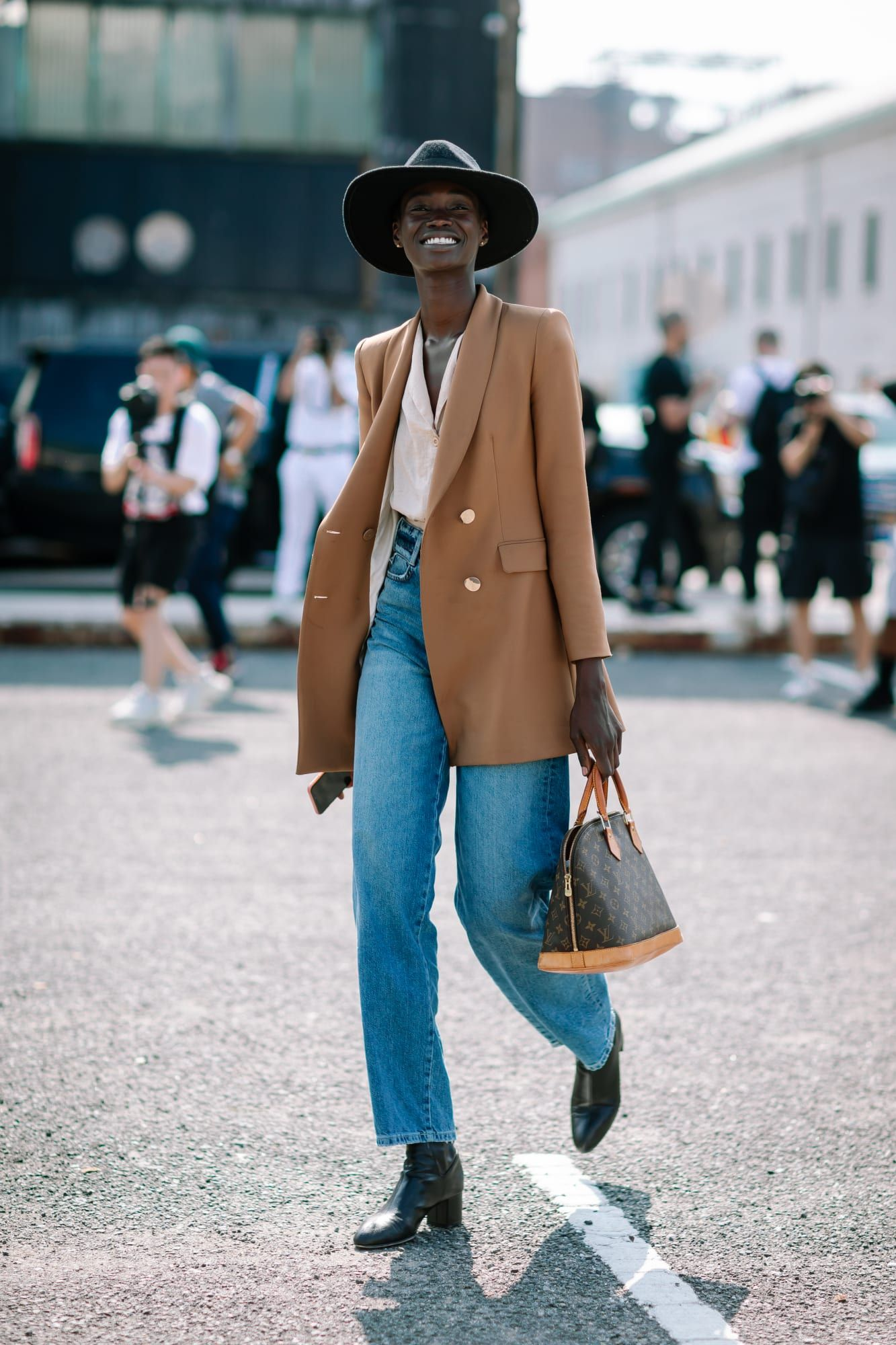 Mixed Prints Were a Street Style Favorite on Day 6 of New York Fashion Week - Fashionista