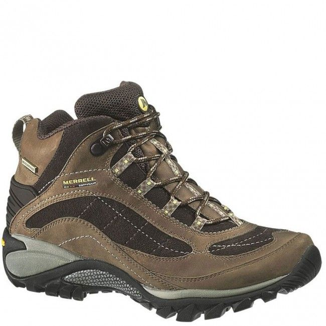 16038 Merrell Women's Siren WP Mid Hiking Boots - Brown www.bootbay.com