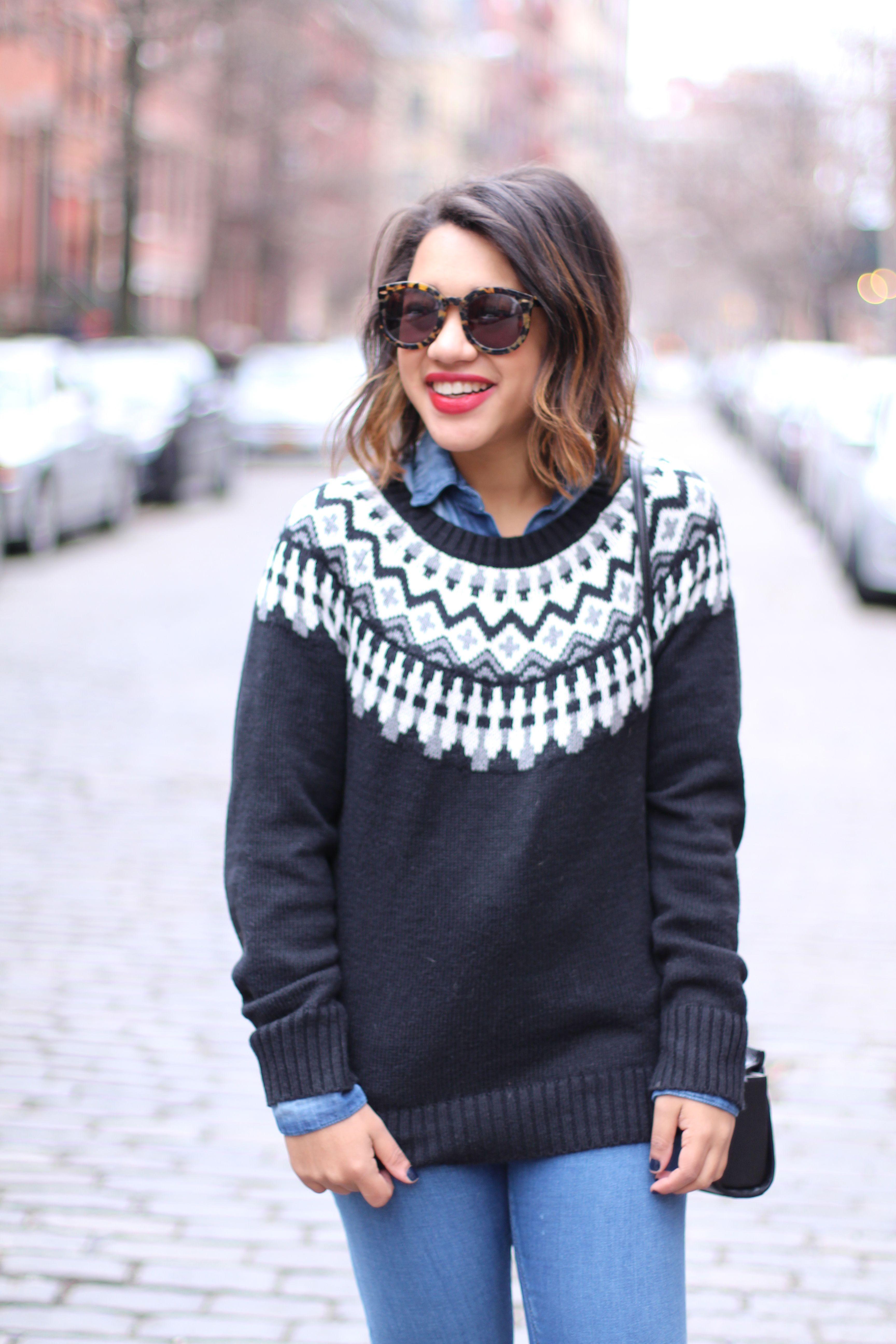 fair isle sweater | Fall. | Pinterest