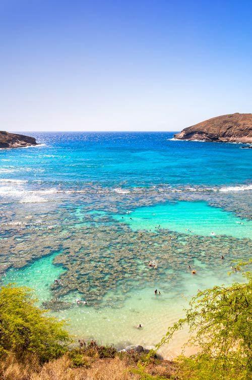 Hanauma Bay Snorkel On Oahu, Hawaii