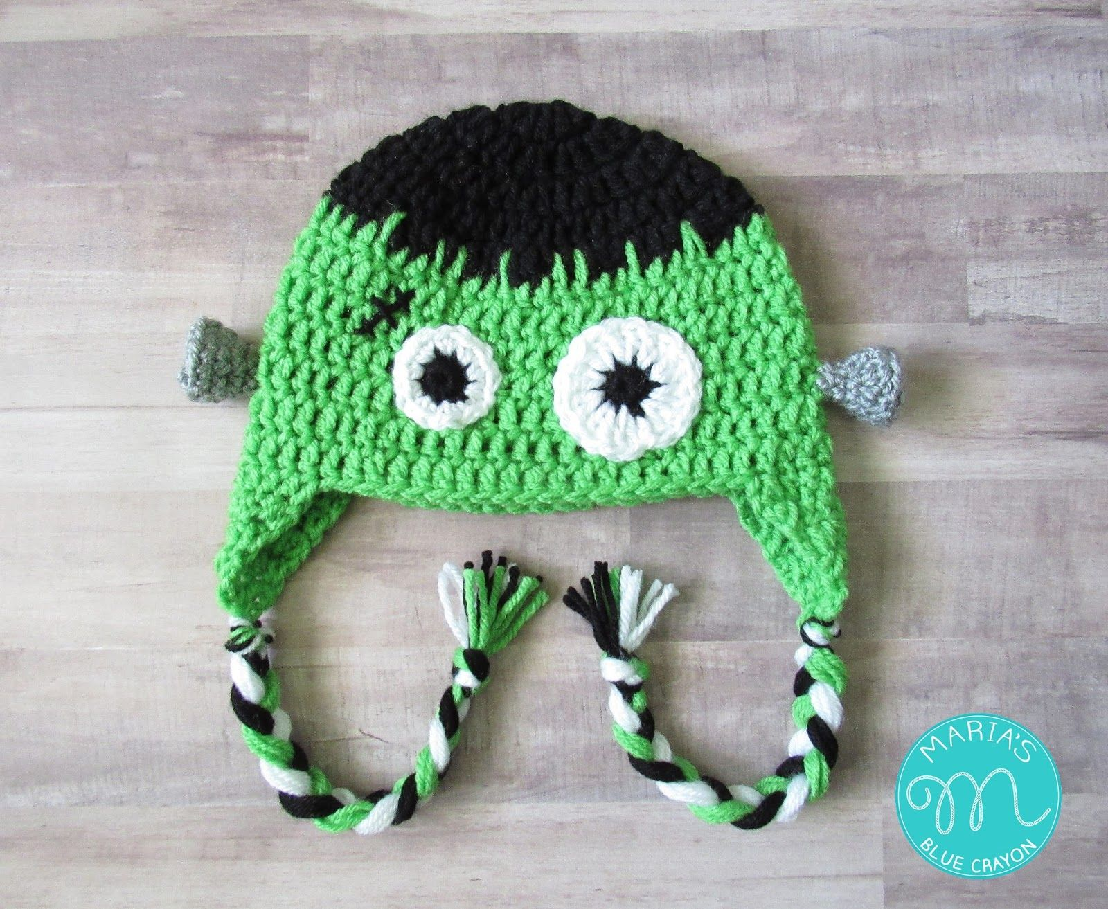 Frankenstein hat crochet pattern crochet halloween costumes frankenstein hat crochet pattern halloween costumeskids bankloansurffo Image collections