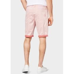 Photo of Tom Tailor Men's Josh Bermuda Shorts, red, plain, size 34 Tom TailorTom Tailor