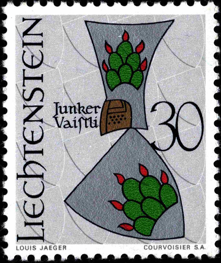 Liechtenstein 1966 Wappen Junker Vaistli (mit Bildern