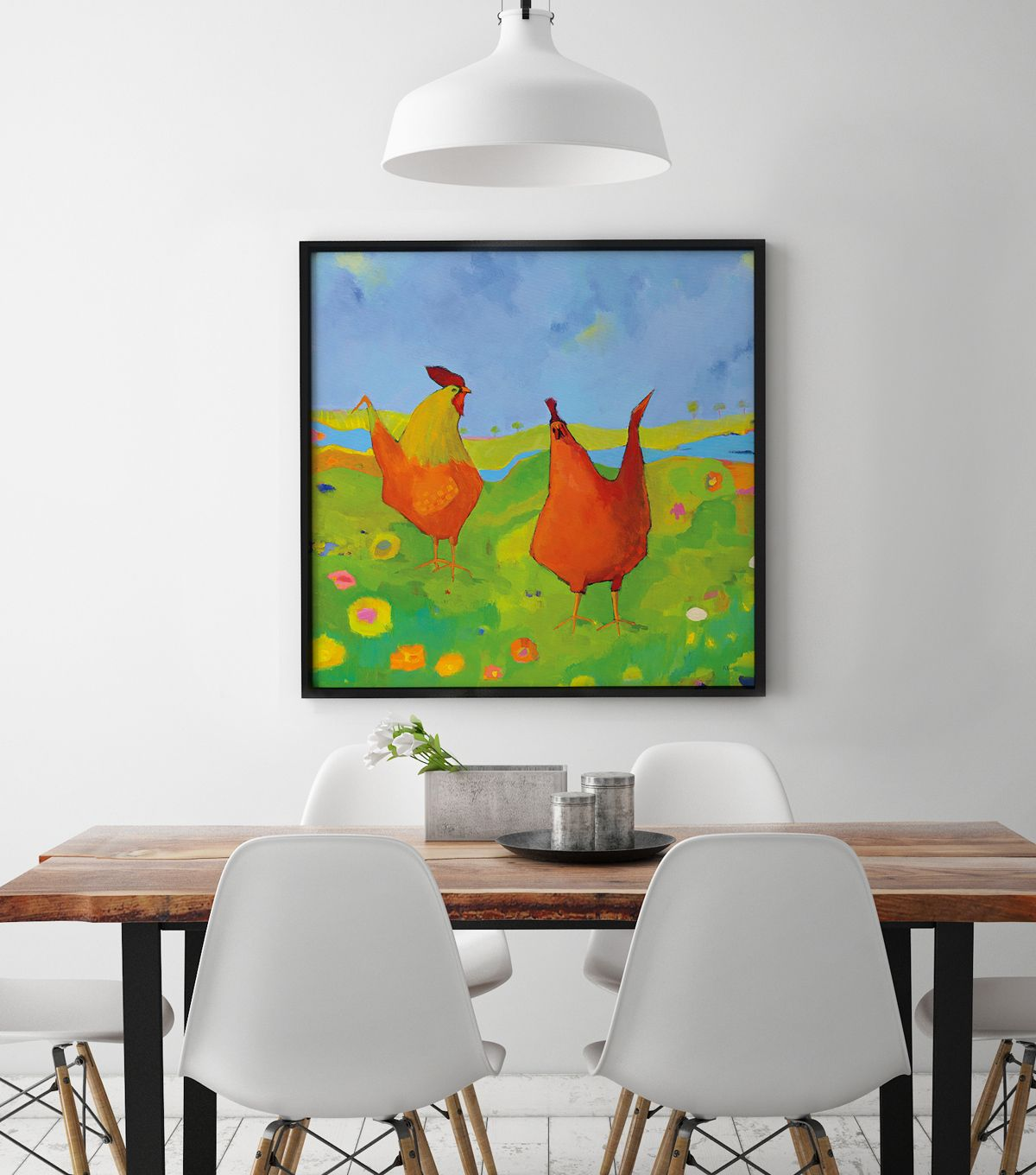 Year of the Rooster Decor