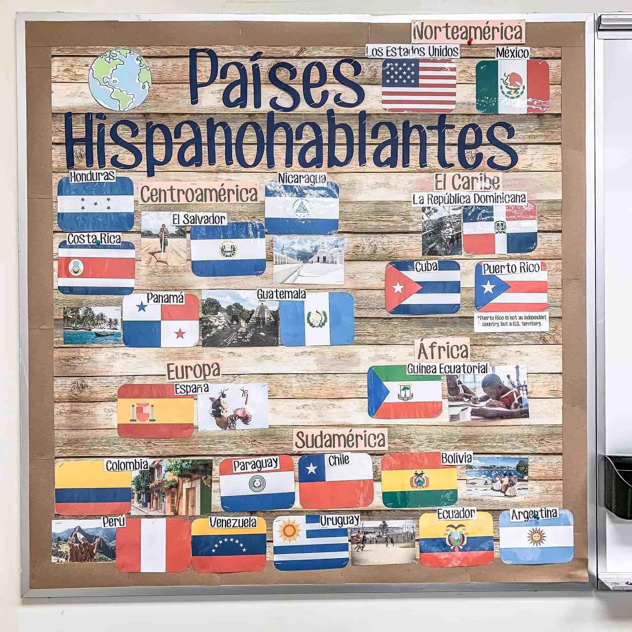Spanish Classrooms Tour A Peek Into 30 Rooms