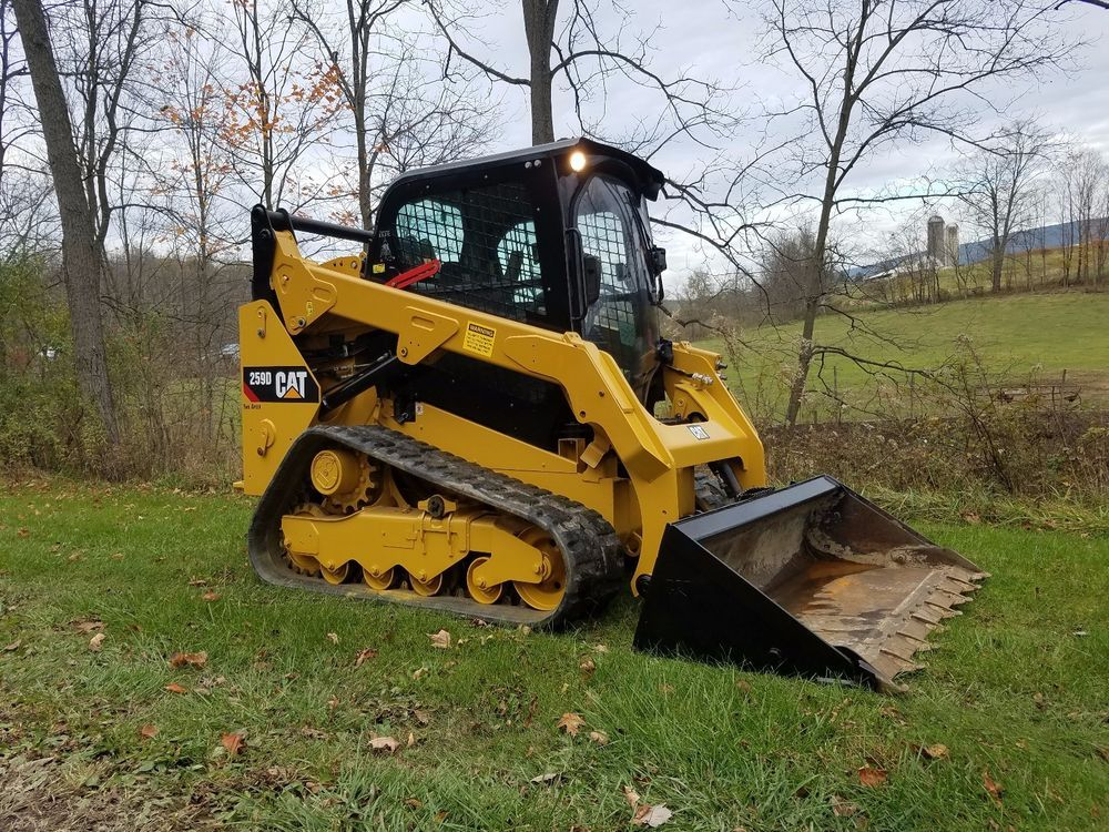 2014 Caterpillar 259D Compact Track Skid Steer Loader