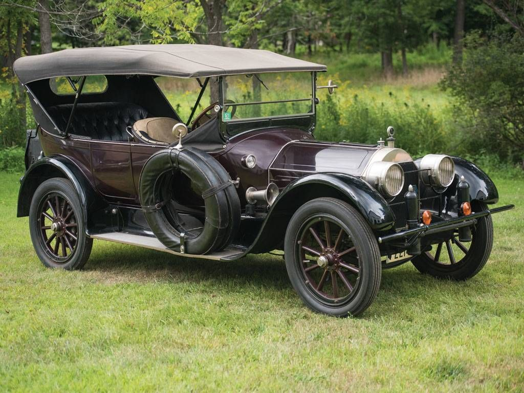 1916 Pierce-Arrow 38C -4 Five-Passenger Touring | Veteran Cars 1905 ...