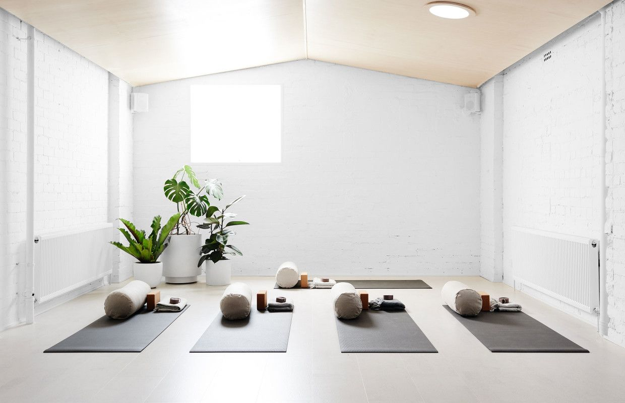 Good vibes yoga studio in northcote founded by melbourne artist kirra jamison photo brooke holm