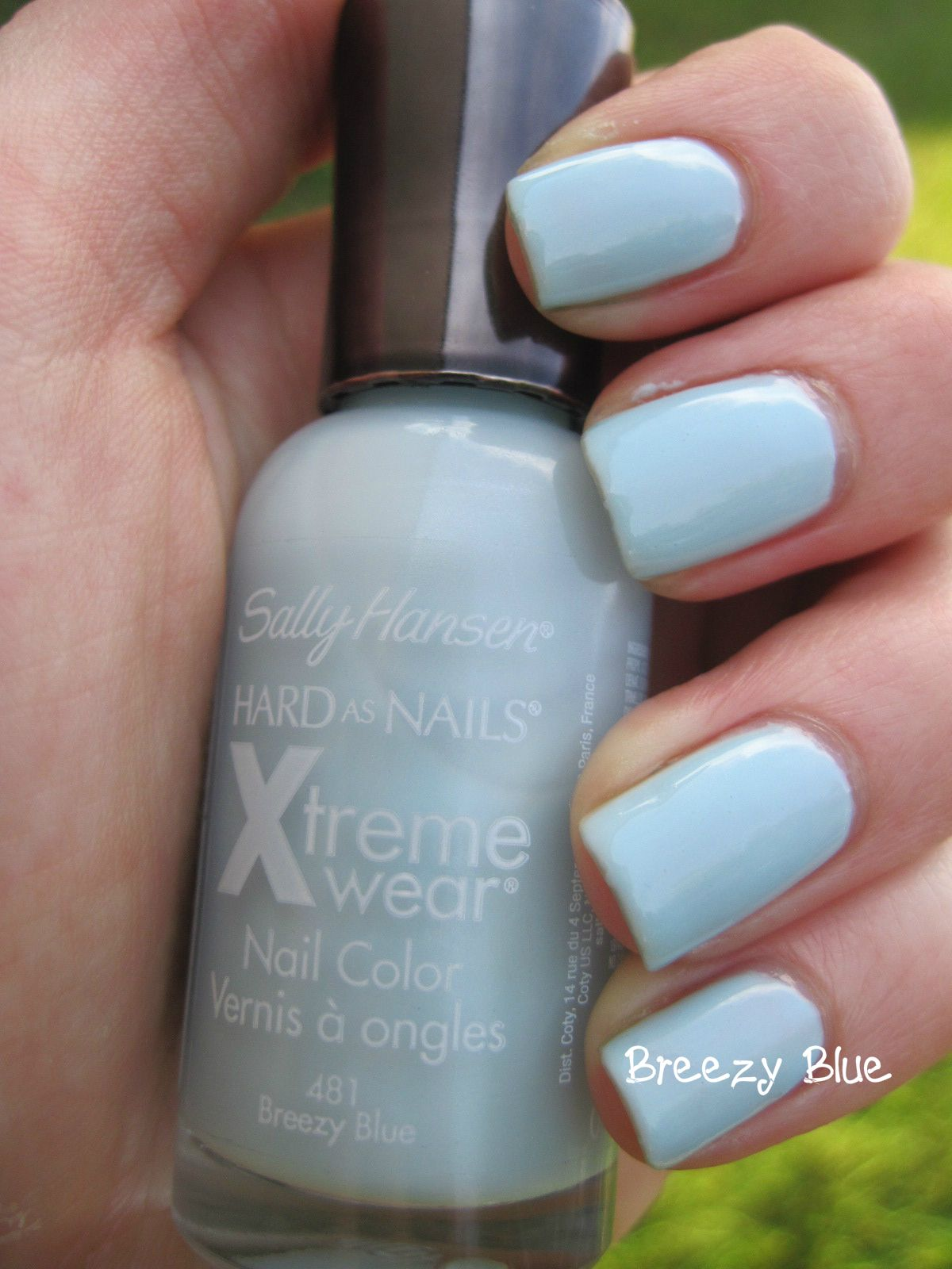 Sally Hansen Hard as Nails Xtreme Wear - Breezy Blue. I have this ...