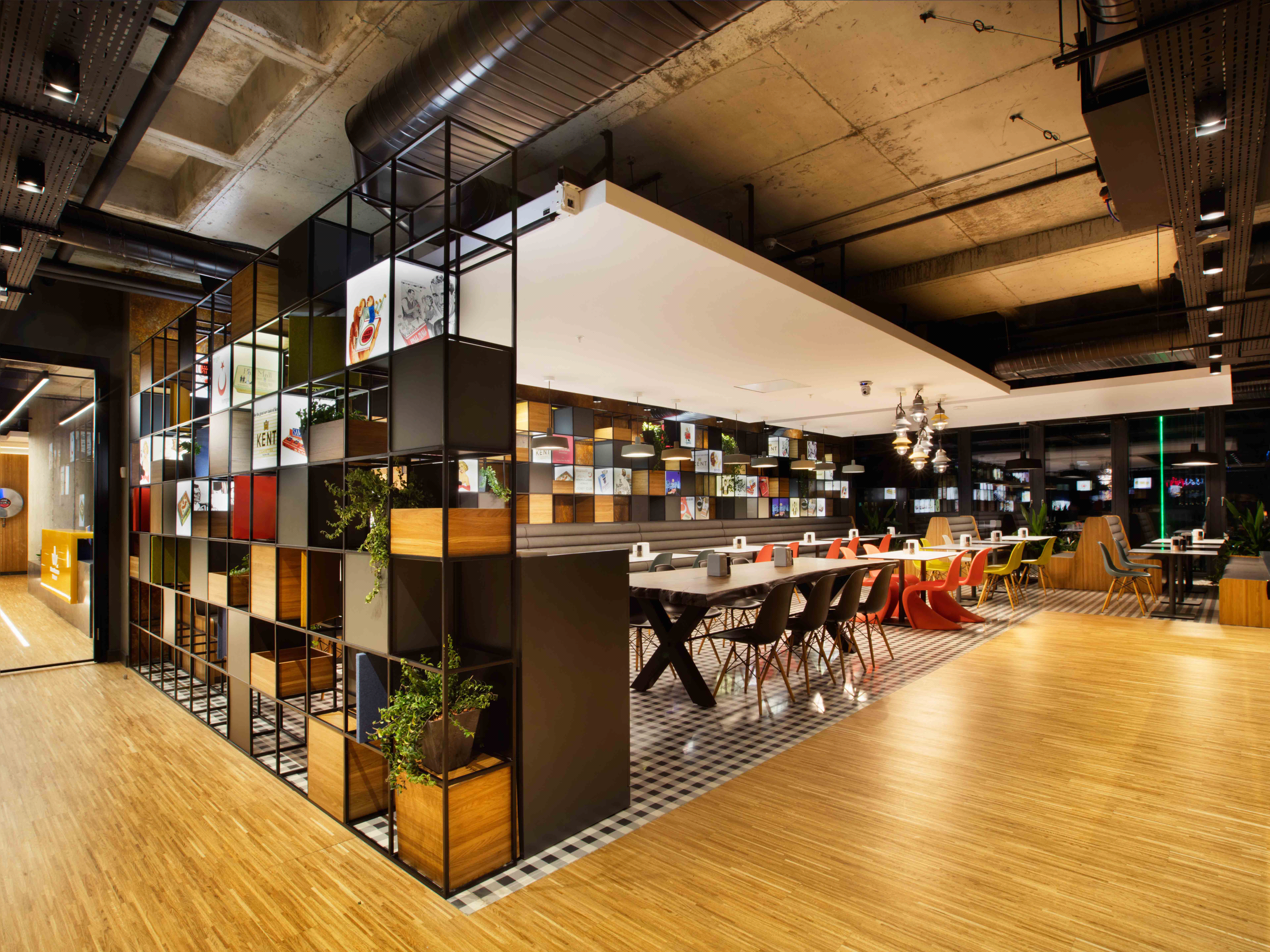 British American Tobacco Istanbul Office   Interior Design By Bakirkure  Architects   Canteen