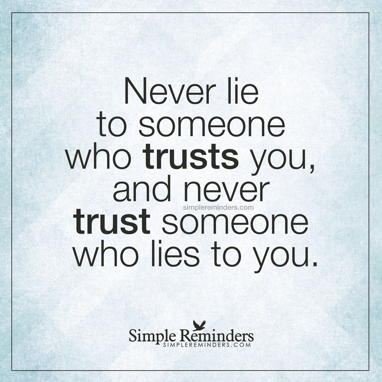 Quotes About Lies And Trust In A Relationship