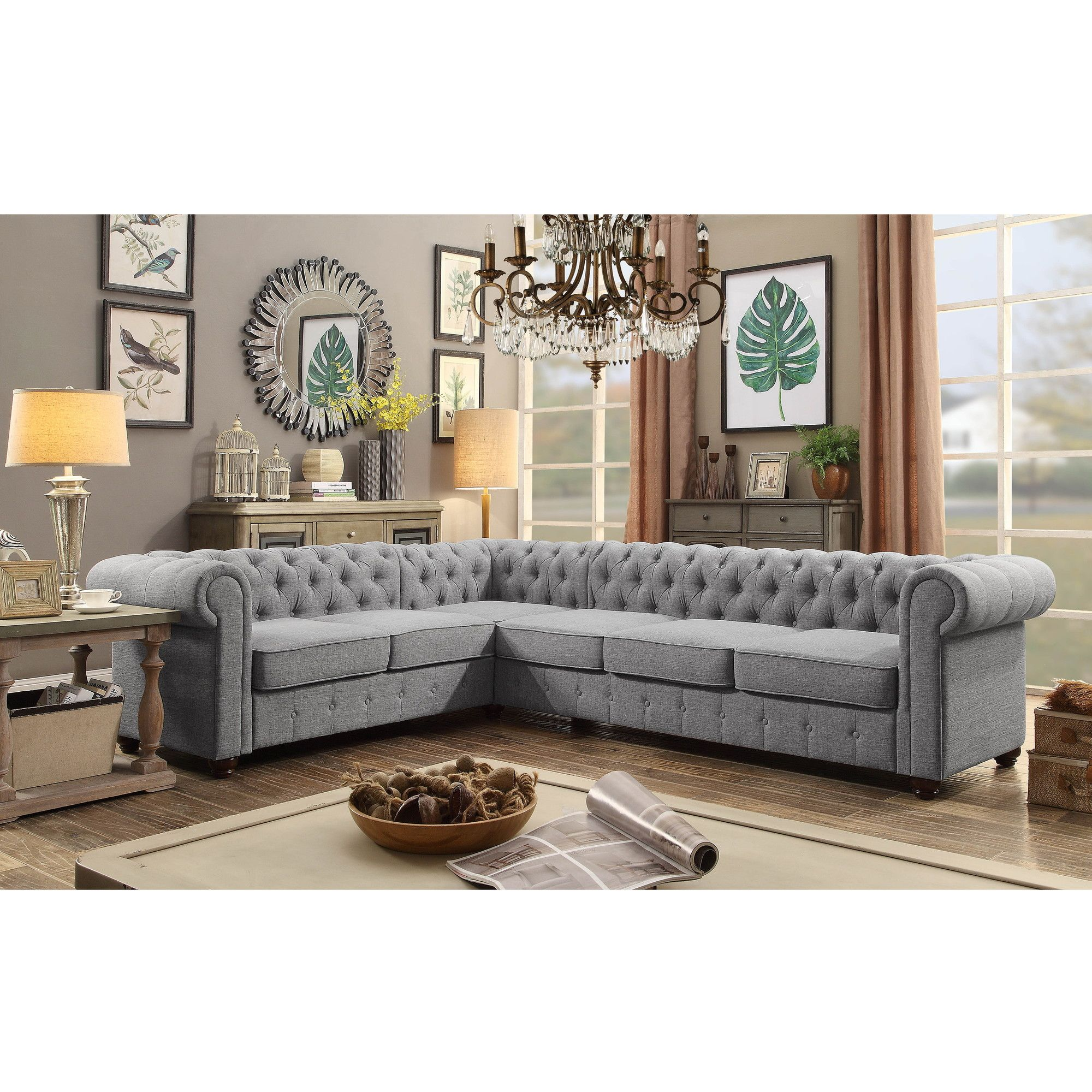 Shop Wayfair for Sectional Sofas to match every style and bud