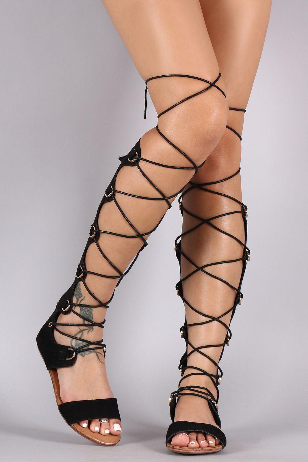 Open Gladiator Toe Up Corset SandalUrbanog Liliana Lace kn0OX8wP
