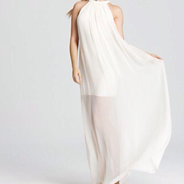 Greek goddess... Love head to toe white