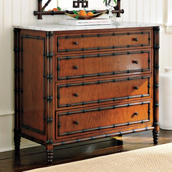 British Colonial Style Hampstead Dresser