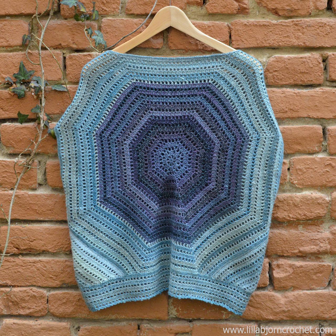 Lilla Bjorn fuera de los hombros suéter - patrón de crochet libre ...